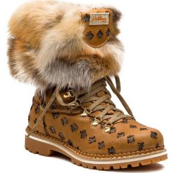Śniegowce MONTELLIANA - Seicento M1749 Brown. Brązowe kozaki damskie Montelliana, z polaru. Za 2,200.00 zł.