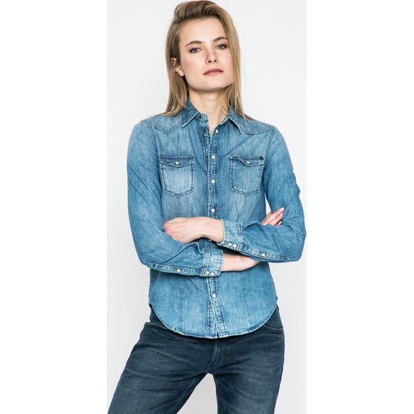 78815d61a Pepe Jeans - Koszula Rosie - Koszule damskie Pepe Jeans, z bawełny ...