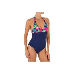 8798d35f145ce1 Kostium kąpielowy jednoczęściowy CLEA BORA DB damski. Niebieskie kostiumy  jednoczęściowe damskie OLAIAN, bez wzorów