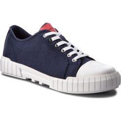 Trampki CALVIN KLEIN JEANS - Beato S1748 Navy. Niebieskie trampki męskie Calvin Klein Jeans, z gumy. Za 519.00 zł.