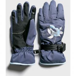 Roxy - Rękawiczki. Czerwone rękawiczki damskie Roxy, z materiału. W wyprzedaży za 149.90 zł.