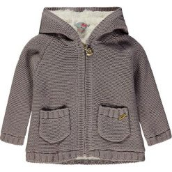 Sweter rozpinany w kolorze szarym. Swetry dla dziewczynek marki bonprix. W wyprzedaży za 95.95 zł.