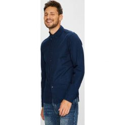Levi's - Koszula. Brązowe koszule męskie Levi's, z bawełny, button down, z długim rękawem. Za 299.90 zł.