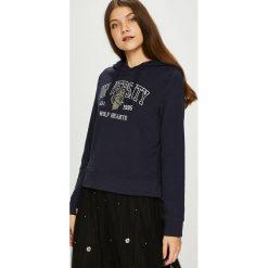 Only - Bluza Eva. Czarne bluzy damskie Only, z nadrukiem, z bawełny. W wyprzedaży za 99.90 zł.