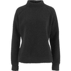Miękki sweter z polaru bonprix czarny. Czarne swetry damskie bonprix, z polaru. Za 79.99 zł.