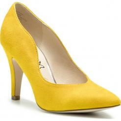 Półbuty CAPRICE - 9-22412-22 Yellow Suede 641. Żółte półbuty damskie Caprice, ze skóry ekologicznej, eleganckie. Za 249.90 zł.