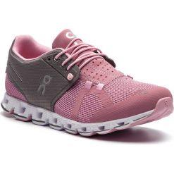 Buty ON - Cloud 00019 Charcoal/Rose 99988. Czerwone obuwie sportowe damskie On, z materiału. Za 599.00 zł.