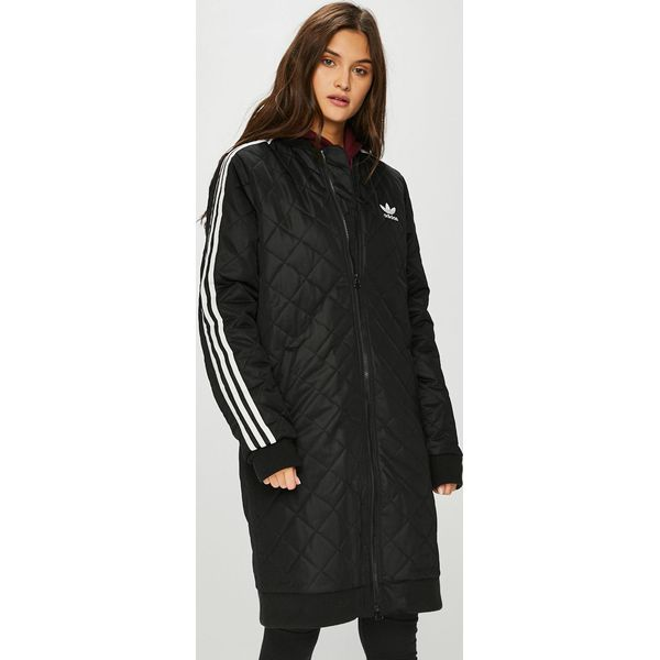 32d2d01213dd29 adidas Originals - Kurtka - Czarne kurtki damskie adidas Originals ...