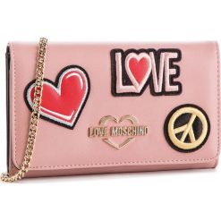Torebka LOVE MOSCHINO - JC5605PP17LJ0600 Rosa. Czerwone torebki do ręki damskie Love Moschino, ze skóry ekologicznej. Za 529.00 zł.