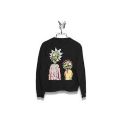 Bluza Rick i Morty Zombie Damska. Czarne bluzy damskie Failfake. Za 160.00 zł.