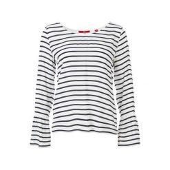 S.Oliver T-Shirt Damski 38 Biały. Białe t-shirty damskie S.Oliver, w paski. Za 119.00 zł.