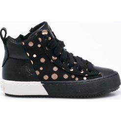 Geox - Półbuty dziecięce. Buty sportowe dziewczęce Geox, z materiału. W wyprzedaży za 219.90 zł.
