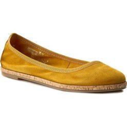 Półbuty TAMARIS - 1-22117-28 Sun 602. Żółte półbuty damskie Tamaris, ze skóry. W wyprzedaży za 179.00 zł.
