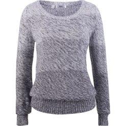 Sweter z okrągłym dekoltem, długi rękaw bonprix jagodowy. Swetry damskie marki bonprix. Za 74.99 zł.