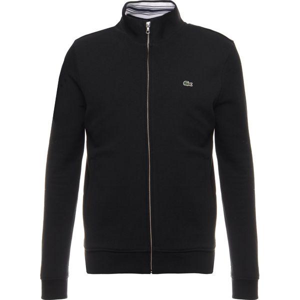 45e957ef8617c1 Lacoste Bluza rozpinana black - Bluzy męskie Lacoste. W wyprzedaży ...