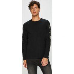 Me&Bags - Longsleeve Northern Story. Czarne bluzki z długim rękawem męskie MEDICINE, z aplikacjami, z bawełny, z okrągłym kołnierzem. W wyprzedaży za 79.90 zł.