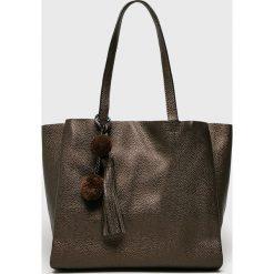 Answear - Torebka. Szare torby na ramię damskie ANSWEAR. W wyprzedaży za 119.90 zł.