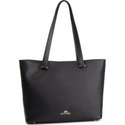 Torebka WITTCHEN - 87-4E-407-1 Czarny. Czarne torebki do ręki damskie Wittchen, ze skóry. W wyprzedaży za 459.00 zł.