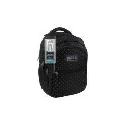 Plecak szkolny Back Up B28 słuchawki gratis. Czarne torby i plecaki dziecięce Derform, z materiału. Za 122.00 zł.