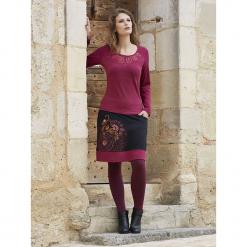 Koszulka w kolorze fioletowym. Fioletowe t-shirty damskie Kéawa, z okrągłym kołnierzem. W wyprzedaży za 51.95 zł.
