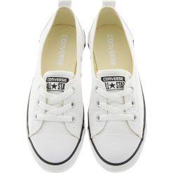 Converse - Tenisówki Chuck T All Star Ballet Lace. Białe trampki i tenisówki damskie Converse, z materiału. W wyprzedaży za 199.90 zł.