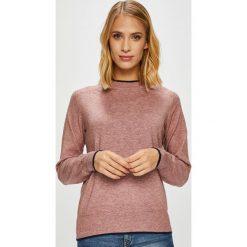 Jacqueline de Yong - Sweter. Różowe swetry damskie Jacqueline de Yong, z dzianiny, z okrągłym kołnierzem. Za 119.90 zł.