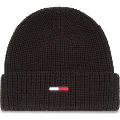 Czapka TOMMY JEANS - Tju Basic Rib Beanie AU0AU00300 002. Szare czapki i kapelusze damskie marki Giacomo Conti, na zimę, z tkaniny. Za 129.00 zł.
