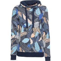 Bluza z nadrukiem bonprix ciemnoniebieski z nadrukiem. Bluzy damskie marki KALENJI. Za 89.99 zł.