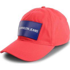 Czapka z daszkiem CALVIN KLEIN JEANS - Cap M K40K400863 634. Czerwone czapki i kapelusze damskie Calvin Klein Jeans, z bawełny. Za 159.00 zł.