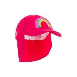 Czapka z daszkiem UV surfing dla malucha. Czerwone czapki i kapelusze damskie OLAIAN, z materiału. W wyprzedaży za 12.99 zł.