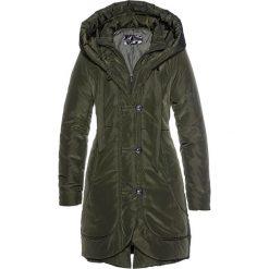 Zielone płaszcze damskie ze sklepu BonPrix.pl Kolekcja