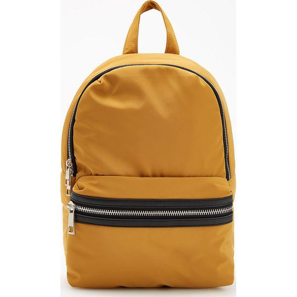 099f936054f4c Musztardowy plecak - Żółty - Plecaki damskie marki Reserved. W ...