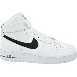 Buty do koszykówki męskie Nike Air Force 1 '07 Mid LV8 białe 804609 100