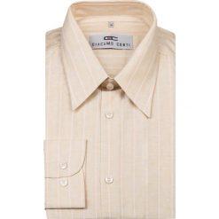 Koszula ALDO 09-01-06. Brązowe koszule męskie Giacomo Conti, z bawełny, z klasycznym kołnierzykiem, z długim rękawem. Za 89.00 zł.