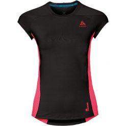 Odlo Koszulka damka Crew neck s/s Ceramicool pro czarno-różowa r. M (350211/60125). T-shirty damskie Odlo. Za 110.10 zł.