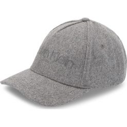 Czapka z daszkiem CALVIN KLEIN - Melton Cap M K50K504127 013. Szare czapki i kapelusze męskie Calvin Klein. Za 179.00 zł.