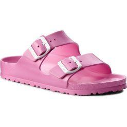 Klapki BIRKENSTOCK - Arizona 0129533 Neon Pink. Czerwone klapki damskie Birkenstock, z tworzywa sztucznego. W wyprzedaży za 119.00 zł.
