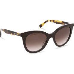 Okulary przeciwsłoneczne BOSS - 0310/S Brown Havana WR9. Brązowe okulary przeciwsłoneczne damskie Boss. W wyprzedaży za 399.00 zł.