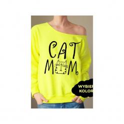 S-xxl wybierz kolory cat mom bluza z. Czerwone bluzy damskie One mug a day, w kolorowe wzory. Za 149.00 zł.
