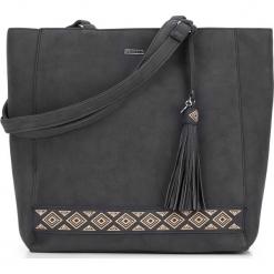 Torebka damska 87-4Y-700-1. Czarne torebki shopper damskie Wittchen, z aplikacjami. Za 129.00 zł.