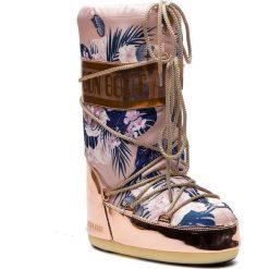 Śniegowce MOON BOOT - Tropical Mirror 14024600001 Copper/Cam Eo Rose. Czerwone kozaki damskie Moon Boot, z materiału. Za 849.00 zł.