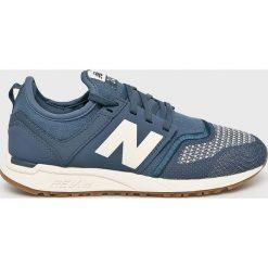 New Balance - Buty. Szare obuwie sportowe damskie New Balance, z gumy. W wyprzedaży za 299.90 zł.