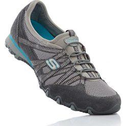 Buty wsuwane Skechers bonprix szaro-turkusowy. Obuwie sportowe damskie marki Nike. Za 124.99 zł.