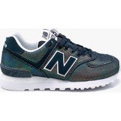 New Balance - Buty WL574UBC. Szare obuwie sportowe damskie New Balance, z gumy. W wyprzedaży za 299.90 zł.
