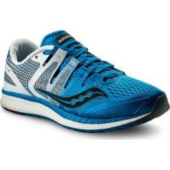 Buty SAUCONY - Liberty Iso S20410-2 Blu/Wht/Blk. Niebieskie buty sportowe męskie Saucony, z materiału. W wyprzedaży za 489.00 zł.