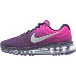 Nike Performance AIR MAX 2017 Obuwie do biegania treningowe purple dynasty/summit white/fire pink/peach cream. Buty sportowe dziewczęce Nike Performance, z materiału. W wyprzedaży za 526.15 zł.