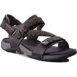 Sandały MERRELL - Terrant Convert J93915 Black. Czarne sandały męskie Merrell, z materiału. W wyprzedaży za 219.00 zł.