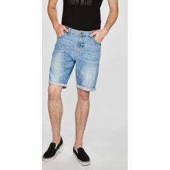 Tom Tailor Denim - Szorty. Szare szorty męskie Tom Tailor Denim, z bawełny, casualowe. W wyprzedaży za 99.90 zł.