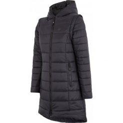4F Kurtka Damska 2W1 H4Z17 kud008 Czarnys. Brązowe kurtki sportowe damskie 4f, na zimę, z puchu. W wyprzedaży za 219.00 zł.