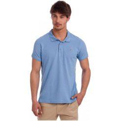 Polo Club C.H..A Koszulka Polo Męska M Niebieska. Niebieskie koszulki polo męskie Polo Club C.H..A. W wyprzedaży za 149.00 zł.